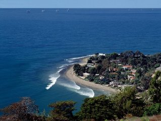 Rincon Point -'Toes on the Nose' Beach House - Surfers Heaven!