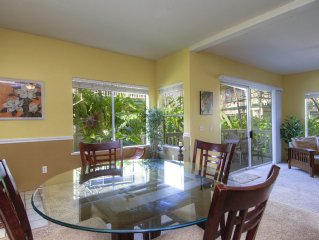 Large Poipu Kai Corner, Ground Floor, Quiet Condo With Relaxing Trade Winds♡☺