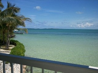 Abaco at its Best! Penninsula--- Water on Both Sides, 80' Dock