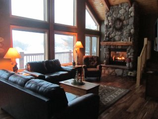 Mountain Valley Getaway  Enjoy a peaceful setting with views of the Snowy Range