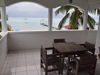 Oceanfront Condo, Walking Distance Of Town, 1Bdrm/1bath, Sleeps 4 Fully Furnish