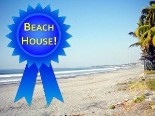 Open Air Beach House 'Hermozo' (2BD / 2BA)