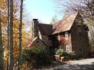 Huge Comfortable Log Home in North Carolina Mountains!