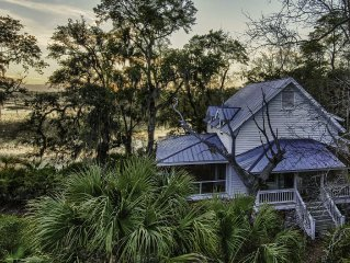 Water View Cottage - Private Island- Colleton River Plantation
