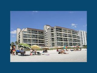 Beautiful Oceanfront Condo In Popular Windy Hill Section, Well Maintained