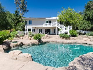 Private Estate With 2 Guest House Suites at Pala Mesa Golf Course