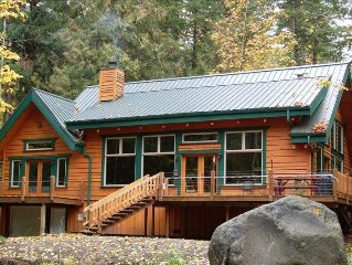 Sandy River Front Cabin- One of the Nicest Around-  Mount Hood