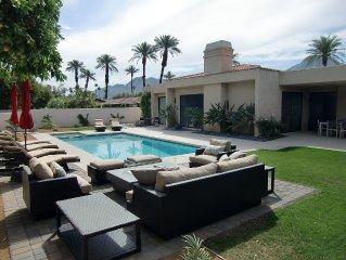 SEASONAL SALE!!  Luxurious 3-Bedroom Desert Oasis in Exclusive Indian Wells