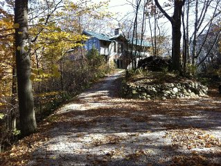 Woodland Retreat with Private Beach--Castle Park