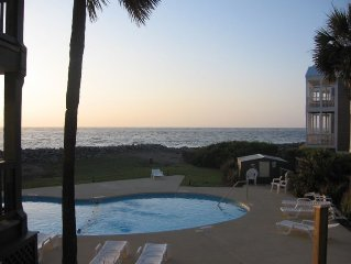 Direct Ocean and Pool Views!  Updated and Clean...