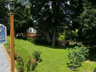 Riverfront home next to Amish farm - perfect for your Lancaster getaway!
