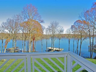 Panoramic Lake Views, Modern Updates & Included Boat Lift