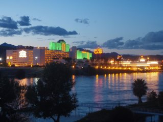Riverfront Condo with Beautiful Views of the Laughlin Strip!
