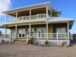 4 Bdrm House with Amazing Ocean View from the Top of Miley Hill