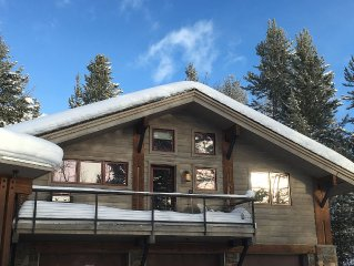 Eclipse Week Available:  Closest House to Tram with Private Outdoor Hot Tub!