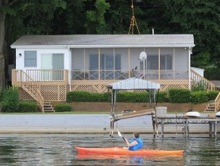 'Getg Inn' Comfortable Cozy Lakefront Property-Beautiful View