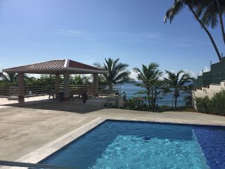 'VILLA REINA' Ocean Front Villa With Private Pool On Secluded Beach !!!