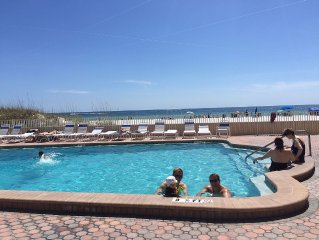 Stunning Newly Renovated Oceanfront Condo with Intercostal Views from Balcony!!!