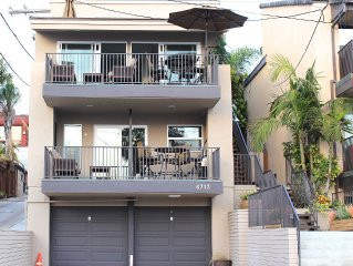 SURFRIDER 1 - 2 Bdrm/2 Bath - Steps to WindanSea Beach, La Jolla
