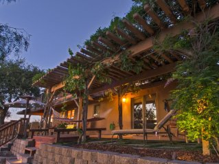 Tuscan-style retreat, in the country with 360 views, upper Carmel Valley