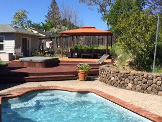 Glen Ellen Private Pool Side Getaway
