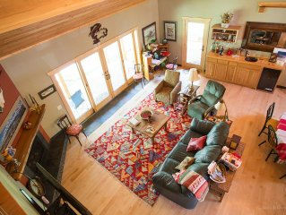 Beautiful cottage on Yellowstone River with private fishing access