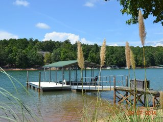 Beautiful Waterfront Home with Stunning Views of Lake Keowee,   Sleeps 10