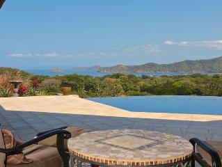 Beautiful New 3 Bedroom, 3.5 Bath 5,000 Square Foot Ocean View Private Villa