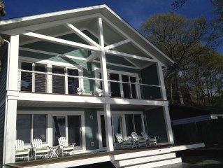 Newer Luxury Lakefront Home on Beautiful Lake Margrethe in Grayling, MI