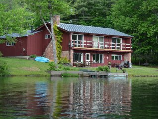 Cozy Ski Retreat close to Okemo doubles as a Wonderful Lakefront Summer Home