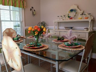 Family-friendly; Near Pool/ Clubhouse; Trolley To Beach; Three Master Suites!