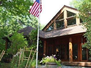 Private Lakefront Adirondack Retreat