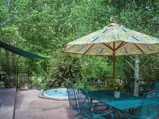 Spring Is Here!Riverside Hacienda In Downtown Salida!Spacious.Riverfront.Hot Tub
