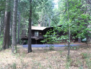 Quaint & Fun Blue Lake Springs Vacation Cabin in Arnold, Ca
