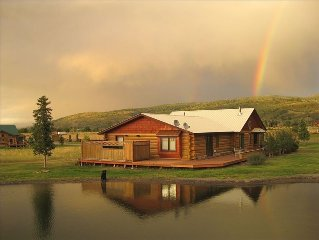 Luxury Log Home, Amazing Views, Best Location, Affordable Rate