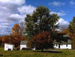 Restored Farm House Country Road Near Hanover - Foliage Peaks