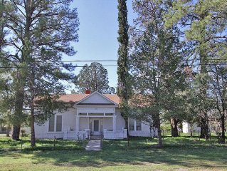 A Charming Adobe Home Built In 1928