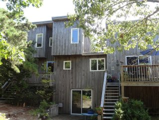 Secluded, sunny, 3 bedroom home with loads of charm and comfort