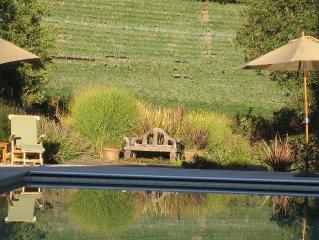 Vineyard FarmStay w/ Heated Pool. Favorite wine: Bar None's Canyon Old Vine Zin
