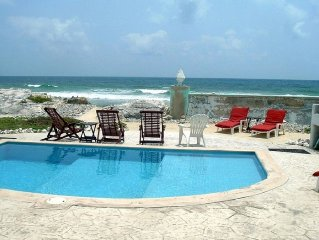Casa Rosa - Beautiful Ocean Front Home - 2 Bedroom Apartment