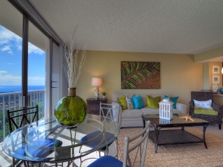 Beautifully Renovated, Designer Decor, Ocean Views and Free Wi-Fi!