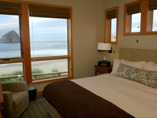 Ocean front luxury unit! Pets welcome, wifi, flat