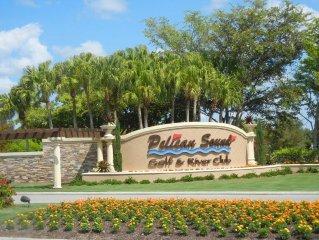 Pelican.Sound,Luxury Condo, Island Decor,27 Hole Golf,River/Preserve View