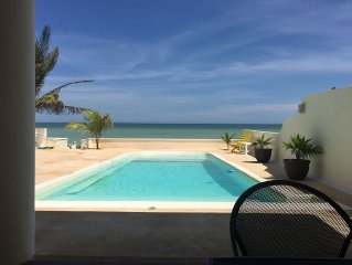 Z'Uno, the Perfect Beach House on Gulf with Pool in San Benito