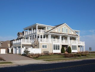 Beautiful Cape May Beach front home, One of the top 50 homes in New Jersey