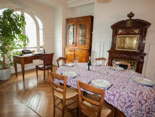 Charming, Well-Appointed 19th Century Flat in Downtown Paris