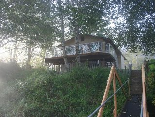 Siletz Riverhouse ~ Stay at Our Peaceful Haven on the River!