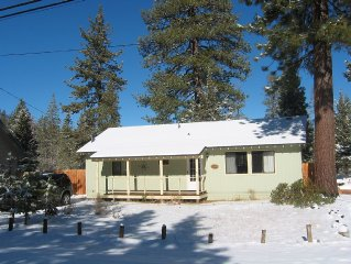 Quiet meadow view home located just outside South Lake Tahoe