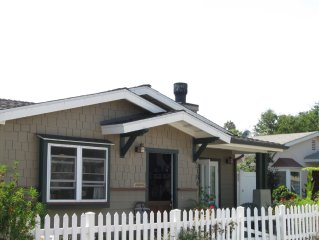 STUNNING CRAFTSMAN BEACH BUNGALOW. IT HAS ALL YOU NEED AND A BLK. FROM BEACH.
