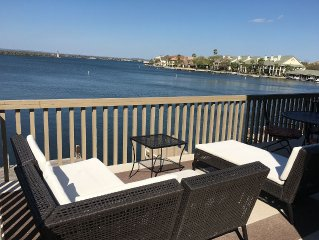 Luxury Open Water w/ Private Boat Slip Next to Yacht Club